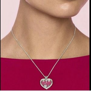 Pandora Silver Heart Charm Locket